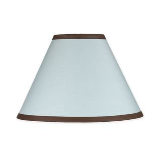 Sweet JoJo Designs Blue and Brown Hotel Lamp Shade