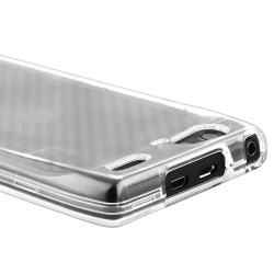 Clear Snap on Crystal Case for Motorola Droid Razr Maxx XT916