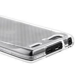 Clear Snap on Crystal Case for Motorola Droid Razr Maxx XT916