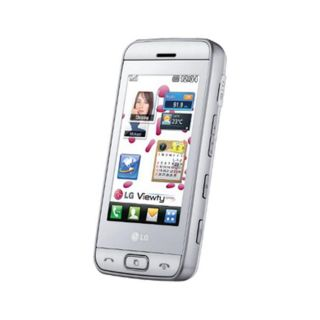 LG GT400 Viewty Smile Unlocked GSM White Cell Phone