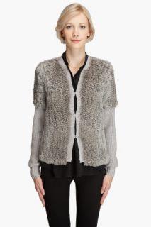 Haute Hippie Bunny Fur Jacket for women