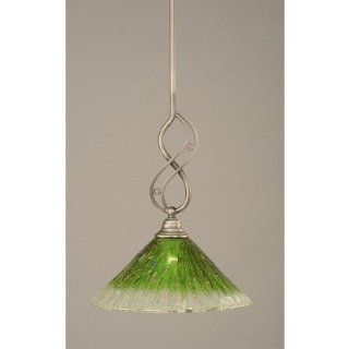 Toltec Lighting 232 447 Jazz Mini Pendant with Kiwi Green