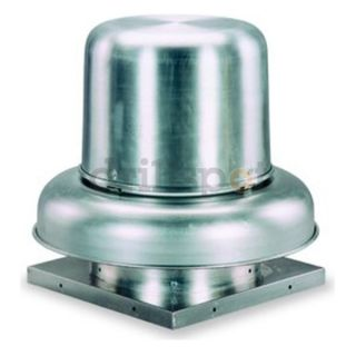 HP Direct Drive Downblast Centrifugal Exhaust Fan roof mount 115/1/60