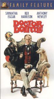 Doctor Dolittle [VHS] Rex Harrison, Samantha Eggar