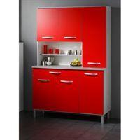 Les meubles olivier   buffet rouge   buffet rouge   FACADEPortes et