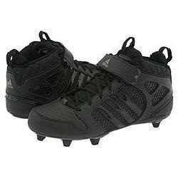 Adidas Grid Iron 7 D Mid Black/Black/Metallic Silver