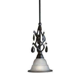 Woodbridge Lighting Avigneau 1 light Black Mini Pendant Today $79.99