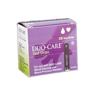GenExel Sein DUO CARE Glucose Test Strips, (50 Count Box