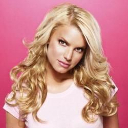 Jessica Simpson and Ken Paves Hairdo Salon Clip in 23 inch Wavy Hair