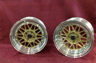 MSR 228 15x8 2 piece wheels 4x100 25mm gold Color (set of four) huge