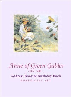 Anne of Green Gables Address Book and Birthday Book   Boxed Gift Set
