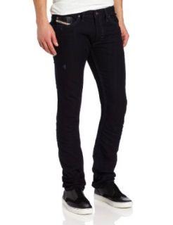 Diesel Mens Thanaz Skinny Straight Leg Jean Clothing