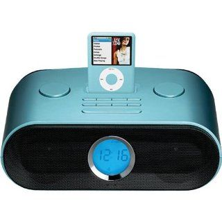 Sylvania SIP235BL iPod Dock Clock Radio   Blue