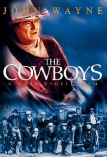 The Cowboys John Wayne, Roscoe Lee Browne, Bruce Dern