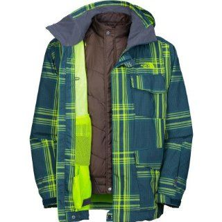 The North Face Mens Madplaid Triclimate Jacket Sports