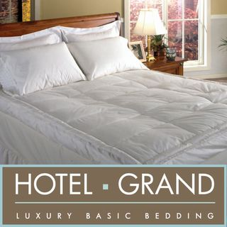 Hotel Grand Luxurious Downtop Baffle Box 5 inch Gusset Featherbed