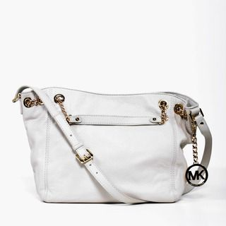 MICHAEL Michael Kors Jet Set Vanilla Leather Chain Tote Bag