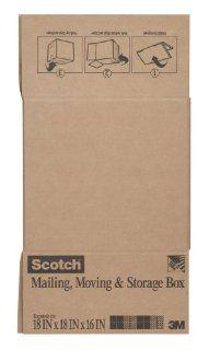 Scotch Mailing, Moving, and Storage Box, 18 x 18 x 16 Inch