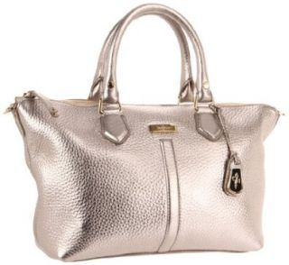 Cole Haan Village Zip Satchel,Platinum,One Size Shoes