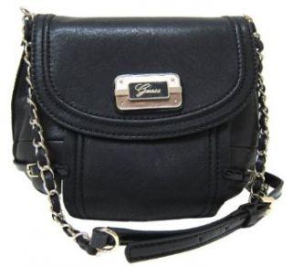 Guess Baden Cross Body Messenger Bag, Black Clothing