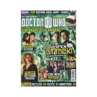 Doctor Who Adventures Magazine #237   Plus FREE Weeping Angel Figures