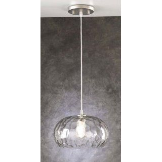 PLC Lighting 231 SN Clear Le Dome Mini Drop Pendant: Home
