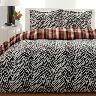 City Scene Safari 3 Piece Comforter Set