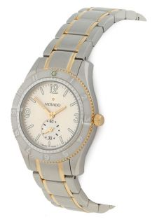 Movado Gentry Two tone Stainless Steel Watch