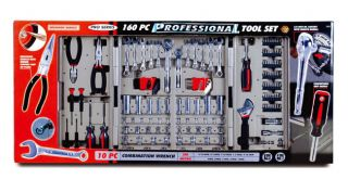 KR Tools 10119 160 piece Professional Tool Set