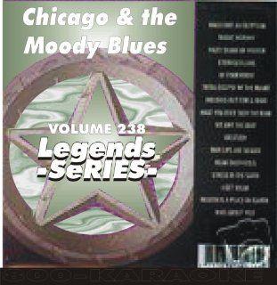 & The Moody Blues 18 Song Karaoke CD+G Legends #238 Legends Music