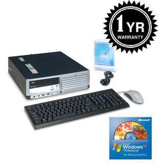 HP DC5100 3.2GHz 160GB XP Pro Desktop Computer (Refurbished