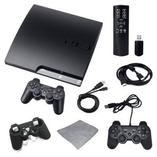 Playstation 3 160GB Super Bundle with Extra Controller, Remote, and