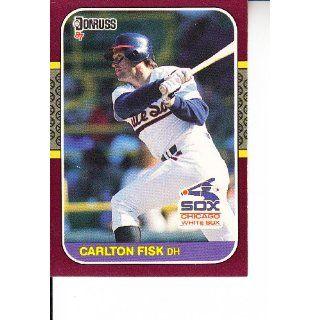 1987 Donruss Opening Day #232 Carlton Fisk Baseball