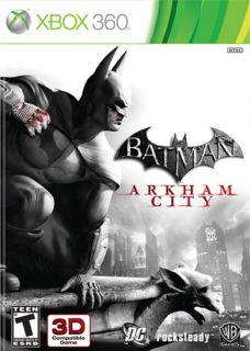 Xbox 360   Batman Arkham City (Pre Played)
