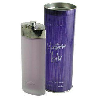 Montana Blu By Montana For Women. Eau De Toilette Spray 1