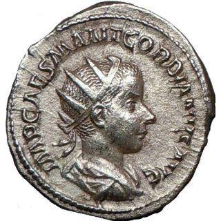 GORDIAN III 239AD Silver Authentic Genuine Ancient Roman
