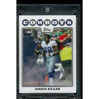 2008 Topps # 233 Greg Ellis   Dallas Cowboys   NFL Trading