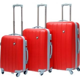 Calpak Klub Hardside 3 Piece Luggage Set Red Clothing