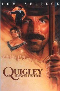 Quigley Down Under Tom Selleck, Laura San Giacomo, Alan