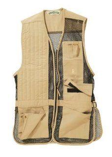 Bob Allen 240M Shooting Vest   Mesh RH KHAKI 240M 30248