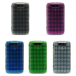 BlackBerry Storm II 9550 Silicone Check Design Case