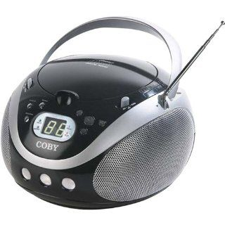 Coby CX CD241 Portable CD Player with AM/FM Stereo Tuner