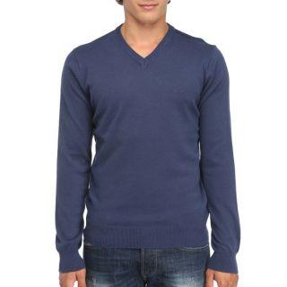 RICA LEWIS Pull Ope Homme Bleu Indigo   Achat / Vente PULL RICA LEWIS