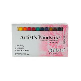 Shiva Student Artists Paintstik Oil Colors Set