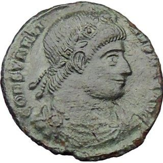Constantine I the Great 334AD Ancient Roman Coin Legions