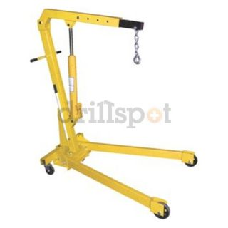Vestil Mfg. Co. EHN 40 C 4000lb Shop Crane Engine Hoist w/ Foldable