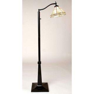 Tiffany style Mission Reading Lamp