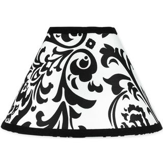 Sweet JoJo Designs Black and White Isabella Lamp Shade