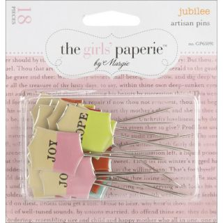 Advantus Words Jubilee Artisan Pins (Pack of 18) Today $7.29
