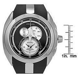 Seiko Mens Kinetic Movement Chronograph Watch